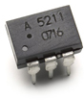 High Current, 1 Form A, Solid State Relay (MOSFET) (600V/0.2A/16O) -- ASSR-5211-001E