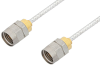 1.85mm Male to 1.85mm Male Cable 18 Inch Length Using PE-SR405FL Coax -- PE36525-18 -Image
