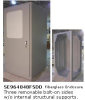 Fiberglass Enclosure -- SE964848FSDD -- View Larger Image