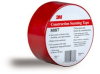 3M™ Construction Seaming Tape 8087 Red, 72 mm x 50 m, 2-13/16 in x 55 yd, 16 rolls per case -- 8087