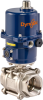 Electrically Actuated Stainless Steel Ball Valve -- E3S Series -Image
