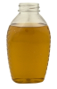 1 lb honey jar oval pet 38/400 -- 70335 - Image