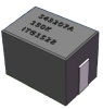 0.12uH, 10%, 0.25mOhm, 75Amp Max. SMD Power bead -- SL43207A-120K -Image