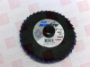 SAINT GOBAIN 110058691 ( BLUEFIRE SANDING 3IN R884P ZIRCONIA ALUMINA DISC ) -- View Larger Image
