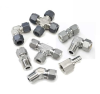 Instrumentation Tube Fitting, Stainless Steel;  AN Bulkhead Union -- D4ANBU4 - Image
