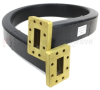 WR-137 Twistable Flexible Waveguide in 39.37 Inch Using UDR70 Flange With a 5.85 GHz to 8.2 GHz Frequency Range -- SMF137-1 -Image