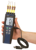 4-Channel Handheld Data Logger Thermometer -- HH374