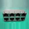 Input-Output Connectors, Modular Jack Series, Modular Jack, Stacked, Material (Housing)=High Temperature Thermosplastic, UL94V-0 -- 10118077-530B010LF