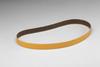 3M 241E Coated Aluminum Oxide Sanding Belt - 100 Grit - 1/2 in Width x 24 in Length - 26719 -- 051144-26719 - Image