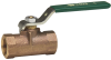 Standard Port Bronze Unibody Ball Valve -- Series B6100