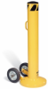 Moveable Bollard with Wheels -- PLS1275