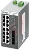 FL SWITCH SFNT 14TX/2FX,High Temp Ethernet Switch,14 Copper, 2 MM Fiber SC, 100M -- 70208282