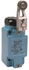 Global Limit Switches Series GLS: Side Rotary With Roller - With Offset, 1NC 1NO Slow Action Make-Before-Break (M.B.B.), 0.5 in - 14NPT conduit, Gold Contacts -- GLAA34A5B-Image