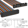 Rectangular Cable Assemblies -- A3AKB-4018M-ND -Image
