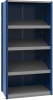 Closed shelving with sloped shelves (standalone unit / series possible) -- SRE2T-EE750502 - Image