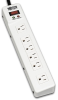 Tripplite Protect It! 6 outlet Surge Suppressor -- TLM626