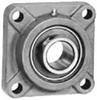 Flange - 4-Bolt - Set Screw Collar