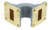 WR-90 Waveguide E-Bend Commercial Grade Using UG-39/U Flange With a 8.2 GHz to 12.4 GHz Frequency Range -- SMF90EB -Image