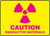 Radiation, Laser & Biohazard Signs -