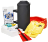 PIG Oil-Only Spill Kit in Truck-Mount Container -- KIT424