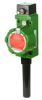 Limitless™ Wireless WBX Series Hazardous Area Limit Switch, 2.4 GHz, RP-SMA antenna jack, side rotary momentary, IEEE 802.15.4 radio specification, approved for use in United States, Canada, and -- WBX1A00ABA