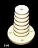 Steatite Base Type Corrugated Insulator -- 6-56