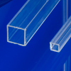Extruded Square Acrylic Tubing -- 44132 - Image