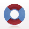 Identification Roll Tape for Color Coding Instruments, Red -- 99973 -- View Larger Image