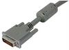 Premium DVI-I Dual Link DVI Cable Male / Male w/ Ferrites, 3.0ft -- MDA00018-3F -Image