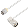 SMA Male to TNC Male Right Angle Cable Assembly using LC085TB Coax, 2 FT -- LCCA30555-FT2 -Image