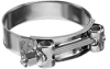 Heavy Duty T-Bolt Clamps 304 Stainless Steel Band with Carbon Steel Bolt and Nut -Image
