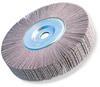 3M Cubitron 741A Coated Ceramic Flap Wheel - 60 Grit - 2 in Face Width - 6 in Diameter - 1 in Center Hole - 81988 -- 051144-81988
