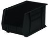 Akro-Mils Akrobin 60 lb Black Industrial Grade Polymer Hanging / Stacking Storage Bin - 18 in Length - 11 in Width - 10 in Height - 1 Compartments - 30260 BLACK -- 30260 BLACK