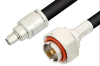 SMA Male to 7/16 DIN Male Cable 24 Inch Length Using RG213 Coax, RoHS -- PE36159LF-24 -Image
