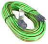 50ft 12/3 SJTW heavy Duty Power Cord w/LED Green -- 2104-SF-14