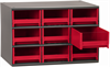 Cabinet, 19-Series Steel Cabinet w/ 9 Drawers -- 19909RED -Image