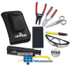 Leviton Universal Fiber Optic Tool Kit -- 49800-MTK