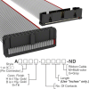 Rectangular Cable Assemblies -- A3DKB-3036G-ND -- View Larger Image
