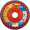 Norton Red Heat Flap Disc Quick Trim Type 27 -- 63642504879