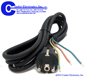 AC  Power Cords -- CA-SCHUKO-8FT-3W-S/T-ICC-H05RN1.0 - Image