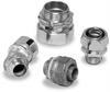 Liqua-Seal® Connectors -- Zinc-Plated Steel, 90°, External Conduit Thread Connectors