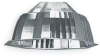 HID Fixture Reflector,Aluminum Optical -- 1THR6
