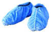 Kimberly-Clark Kleenguard A20 Blue XL Disposable Cleanroom Shoe Cover - SMS Fabric Upper - 036000-66857 -- 036000-66857