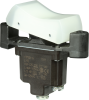 TP Series Rocker Switch, 1 pole, 2 position, Screw terminal, Flush Panel Mounting -- 1TP201-6 -Image