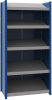 Closed shelving with sloped shelves (standalone unit / series possible) -- SRD2T-EE750501 - Image
