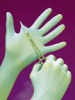 Fisherbrand Powder-Free Nitrile Exam Gloves with Aloe -- hc-19-050-550B
