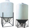 Large Cone Bottom Polyethylene Tanks -- 8885