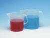 Cole-Parmer Low-Form PP Beakers with Handle and Pour Spout, 2000 mL, 2/Pk -- GO-61000-42