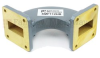 WR-112 Waveguide H-Bend Commercial Grade Using UG-51/U Flange With a 7.05 GHz to 10 GHz Frequency Range -- SMF112HB -Image