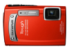 Olympus TG-320 Red 14mp 3.6x (28-102mm) Optical Zoom Digital Camera - 2.7in LCD Monitor - Waterproof -- V104080RU000